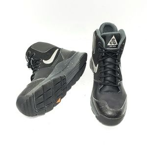 Nike Stasis ACG Youth 5.5 Black Leather Boots